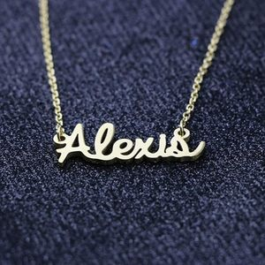 Jewelry - Alexis Name Necklace